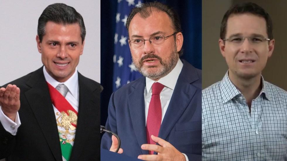 Vinculan en presunta red delictiva a EPN, Videgaray y Anaya - Red delictiva Ricardo Anaya EPN Videgaray