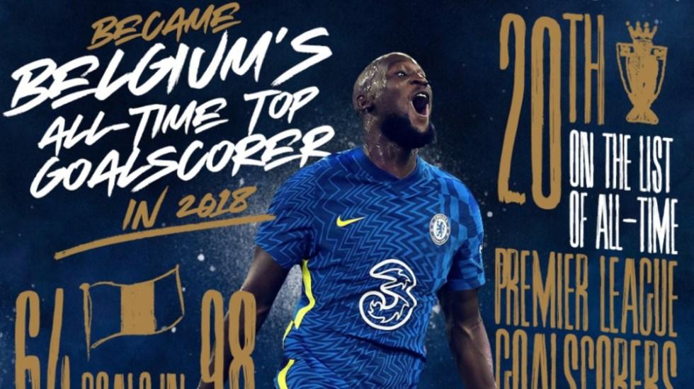 Chelsea recupera a Romelu Lukaku por cinco temporadas - Romelu Lukaku Chelsea