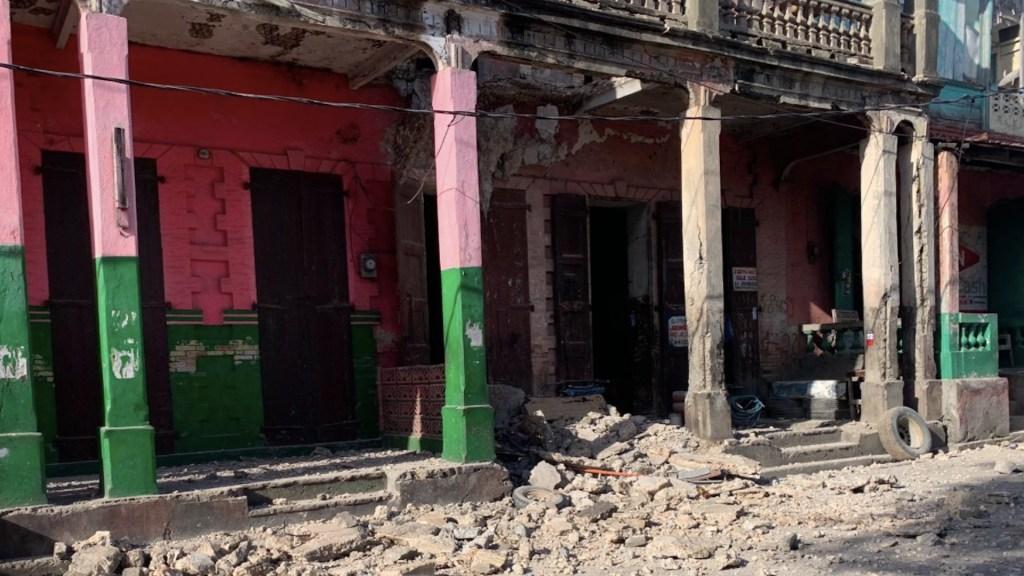 Sismo magnitud 7.2 sacude Haití; levantan alerta de tsunami - Sismo magnitud 7.2 sacude Haití. Foto de @JCOMHaiti