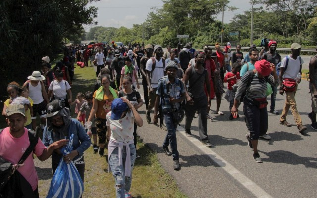 ONU exige a México respetar derechos humanos de migrantes tras operativo en Chiapas - ONU Tapachula Chiapas migrantes operativo