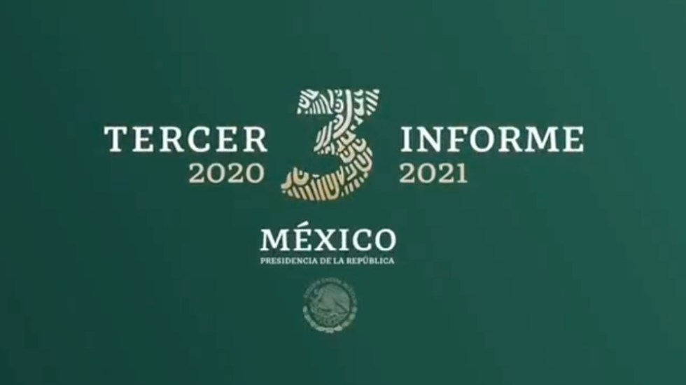 López Obrador promociona informe de Gobierno con decena de videos - Tercer Informe AMLO López Obrador 2021
