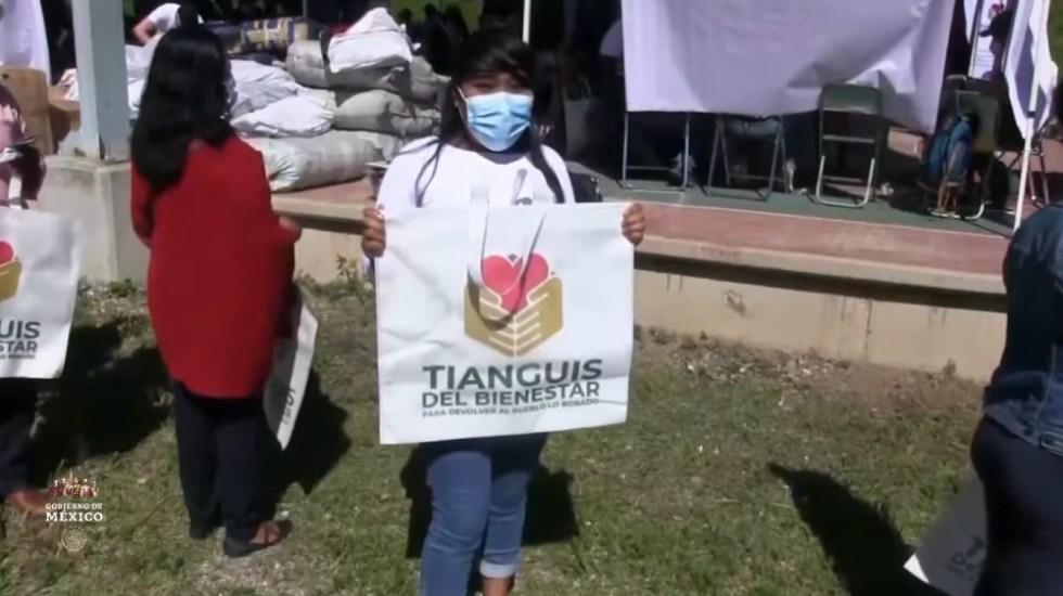 Gobierno presenta Tianguis del Bienestar; entregará mercancía decomisada a población pobre - Tianguis del Bienestar