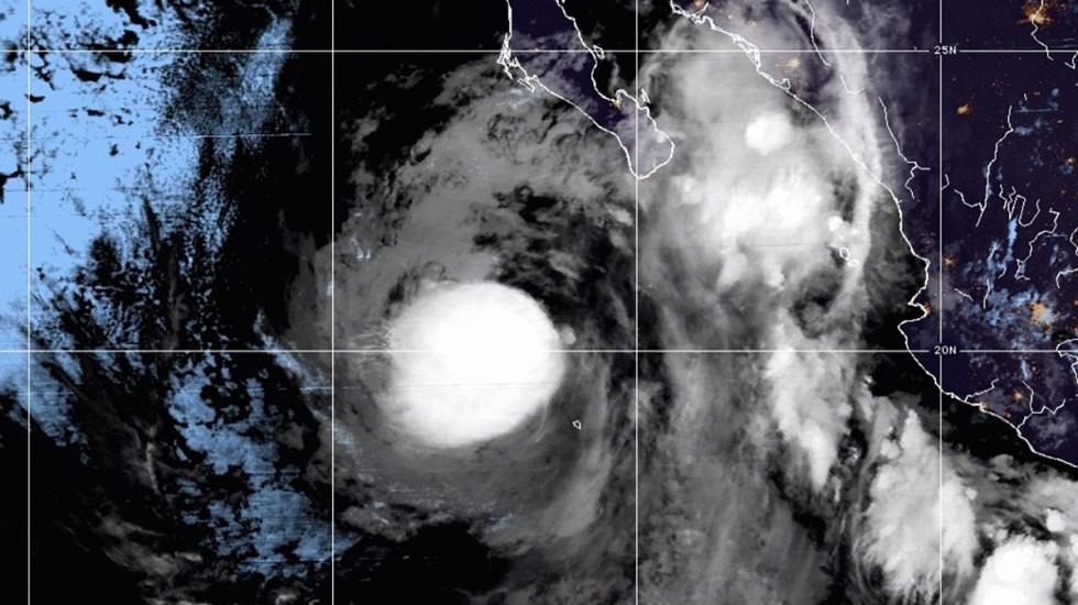 Nace la tormenta tropical Marty a partir de remanentes de 'Grace' - Tormenta tropical Marty