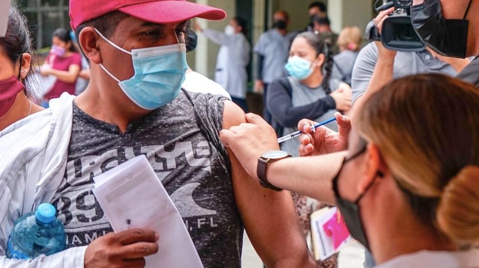 EE.UU. estudia vacunar migrantes que cruzan la frontera con México - EE.UU. estudia vacunar migrantes que cruzan la frontera con México. Foto de EFE