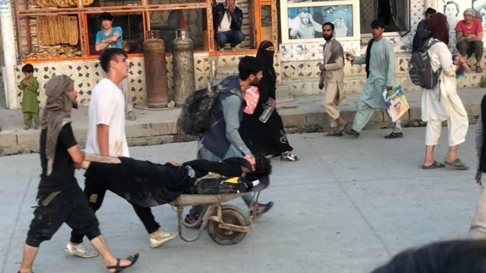 Suman seis muertos y 60 heridos por explosiones en aeropuerto de Kabul
