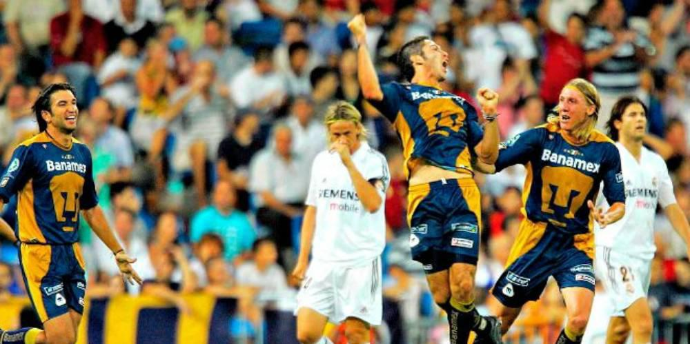Pumas contra Real Madrid
