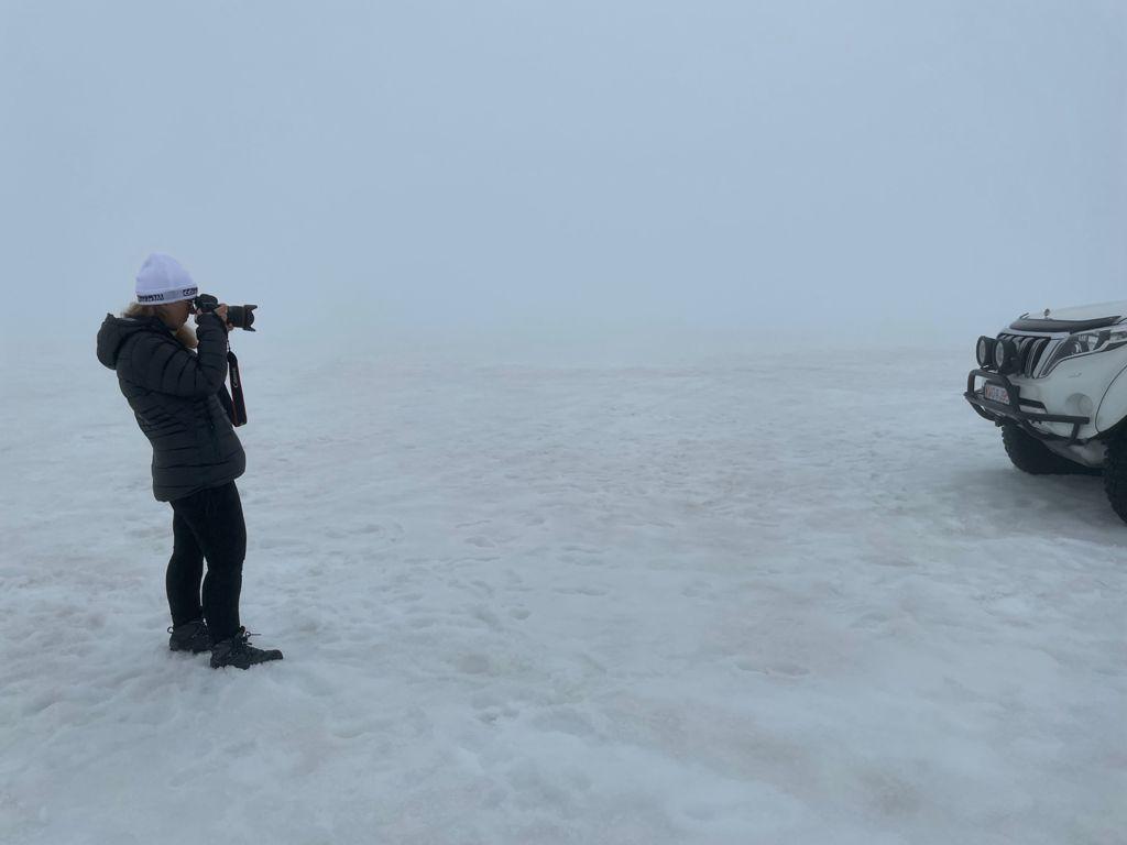 Tour por glaciares en Islandia. Foto de Ivonne Frid.