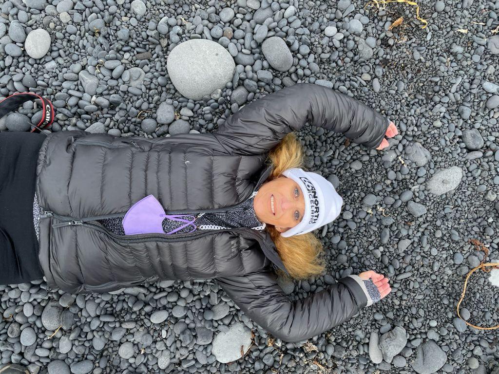 Playas volcánicas de Islandia. Foto de Ivonne Frid.