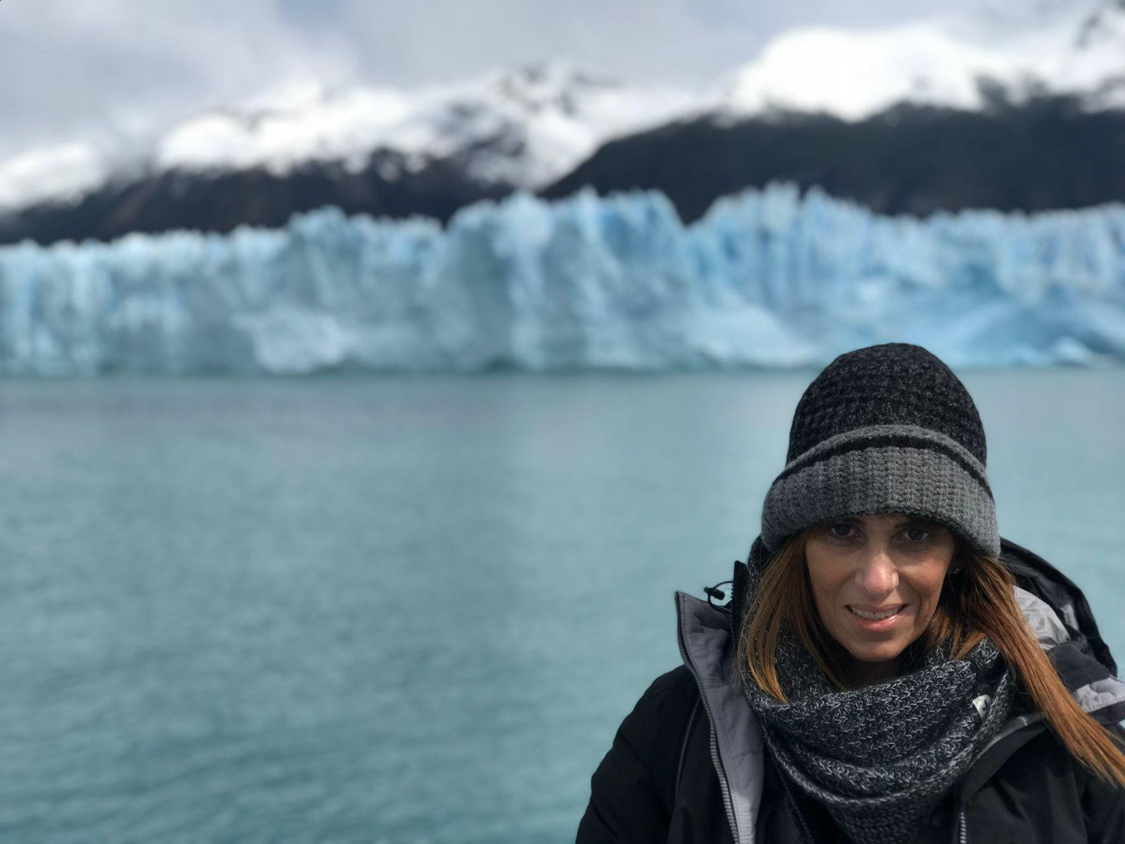 Glaciar Perito Moreno en Argentina. Foto de Ivonne Frid.