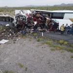 Accidente carretero en Sonora deja 16 muertos