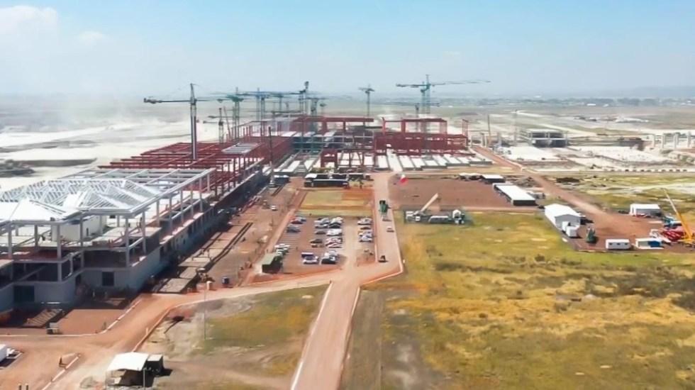 Gobierno limitará operaciones en el AICM para dirigirlas hacia Santa Lucía - Aeropuerto Felipe Ángeles Santa Lucía operaciones