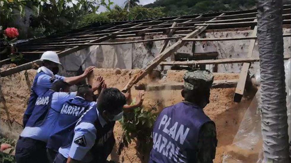 Sismo magnitud 7.1 dejó en Guerrero más de 3 mil viviendas afectadas - Afectaciones a viviendas en Acapulco