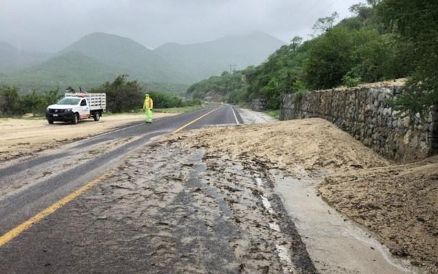 Afectaciones mínimas en vías de Baja California Sur tras impacto de Olaf - Afectaciones Olaf Baja California Sur vías