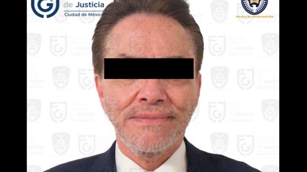 Dictan prisión preventiva a Alejandro del Valle por el delito de fraude - Dictan prisión preventiva a Alejandro del Valle por el delito de fraude. Foto de FGJCDMX