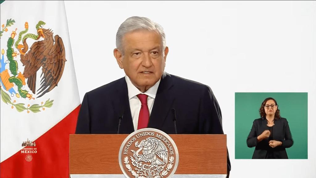 """""""Está como para presumir a los cuatro vientos"""": AMLO presume récords económicos en su Administración - El presidente López Obrador. Captura de pantalla."""