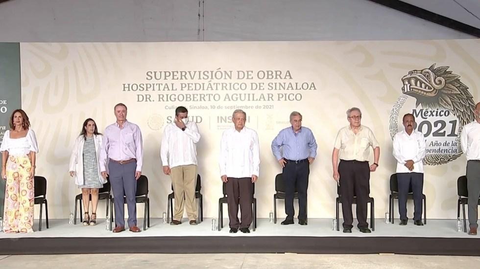 #Video AMLO invita a su equipo a Quirino Ordaz, gobernador de Sinaloa - En Culiacán, Sinaloa, AMLO y Quirino Ordaz