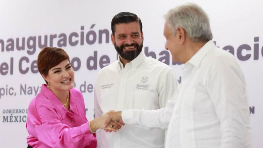 López Obrador invita al gobernador de Nayarit a sumarse a su administración - Antonio Echevarría García Andrés Manuel López Obrador Nayarit
