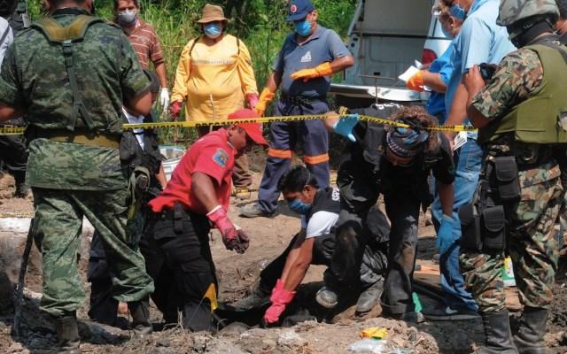 Localizan centro de exterminio del crimen organizado en Tamaulipas - Localizan centro de exterminio del crimen organizado en Tamaulipas. Foto de EFE