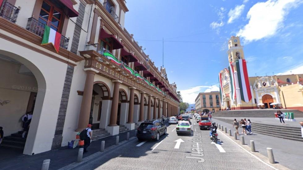 Centro de Xalapa, blindado por Grito de Independencia - Centro Xalapa Veracruz Grito