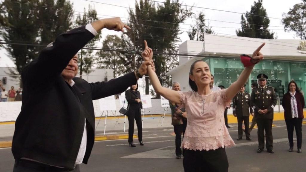 """""""Ella gobierna muy bien"""": AMLO reitera su apoyo a Claudia Sheinbaum -"""