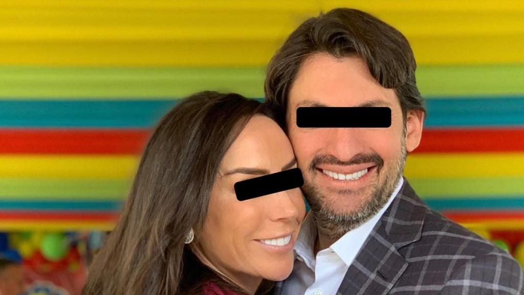 Giran orden de aprehensión contra 10 implicados en caso contra Gómez Mont y su esposo - Inés Gómez Mont y su esposo Víctor Álvarez Puga. Foto de @inesgomezmont