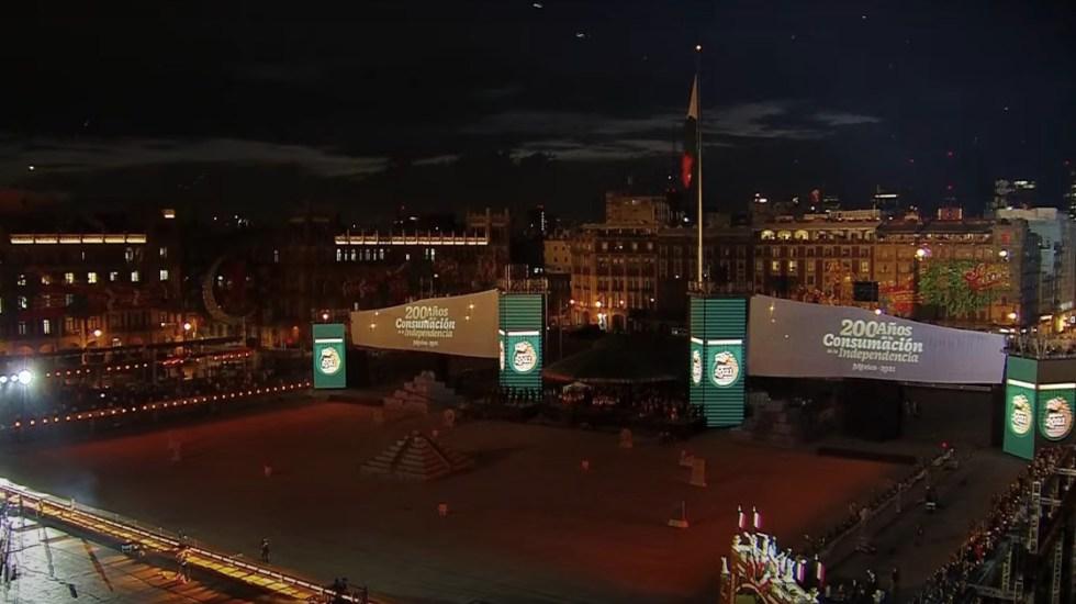 #EnVivo Ceremonia de Consumación de la Independencia - Ceremonia de Consumación de la Independencia de México. Foto tomada de video