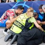 #Video CR7 da pelotazo a mujer durante partido; le regaló su camiseta