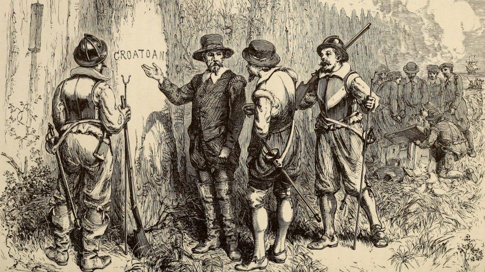 Croaton - Croaton. Foto de WikiCommons/ William Ludwell Sheppard, Engraving by William James Linton.