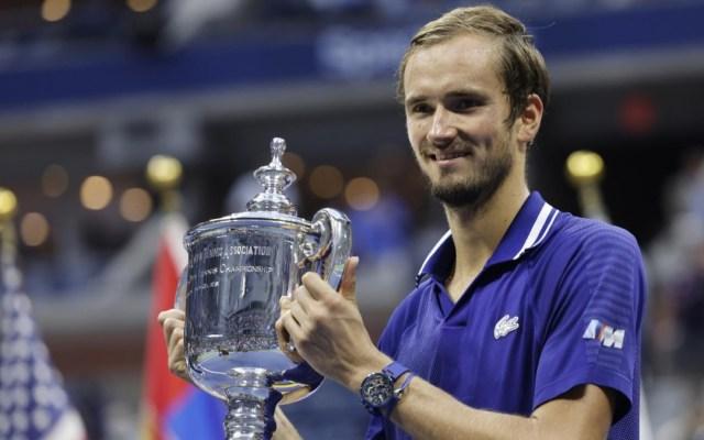 Medvedev derrota a Djokovic y gana el US Open, su primer Grand Slam - Daniil Medvedev tenis