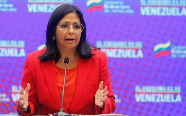 """Venezuela acusa que Colombia está aislada """"en su guerrerismo"""" - Delcy Rodríguez Venezuela"""