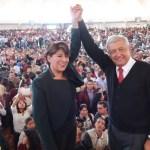 AMLO 'destapa' a Delfina Gómez como candidata, nuevamente, a gobierno del Edomex