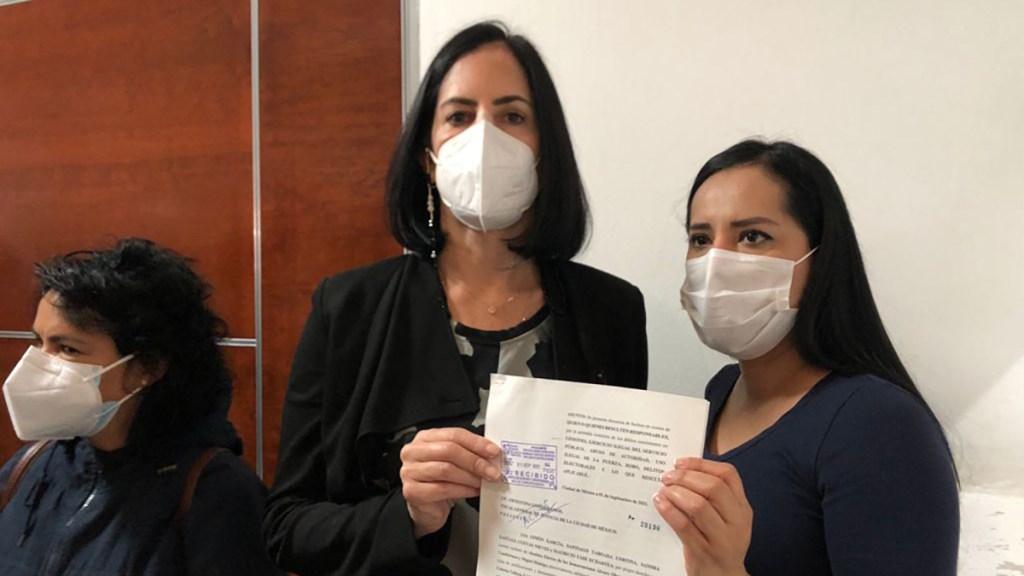 Alcaldes de oposición denuncian ante FGJ agresión a Lía Limón - Denuncia por agresión a Lía Limón