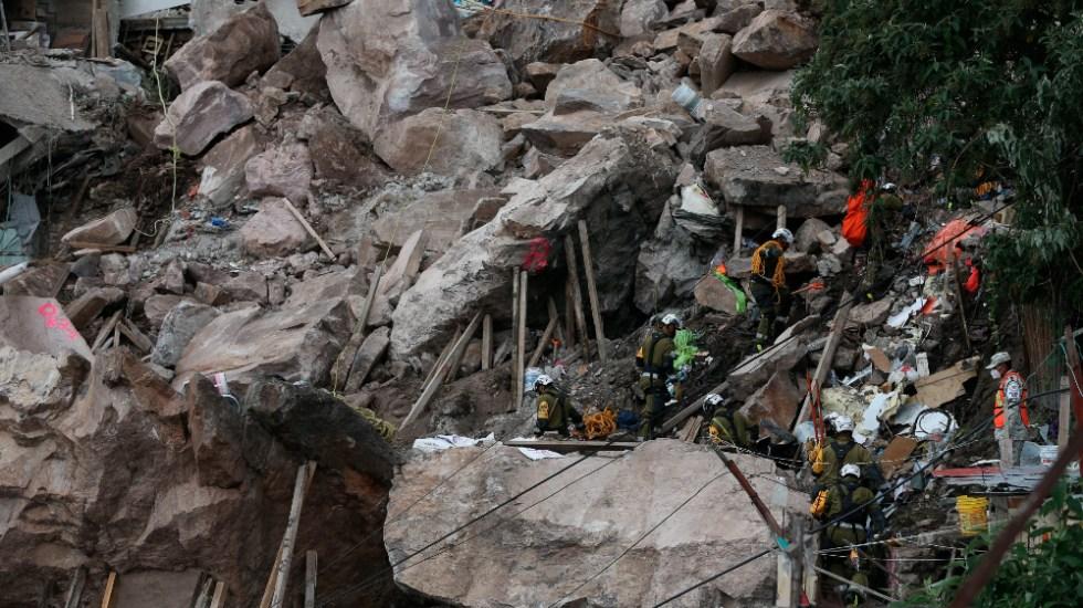 Tres personas continúan desaparecidas tras derrumbe en Cerro del Chiquihuite - derrumbe Chiquihuite Tlalnepantla Edomex