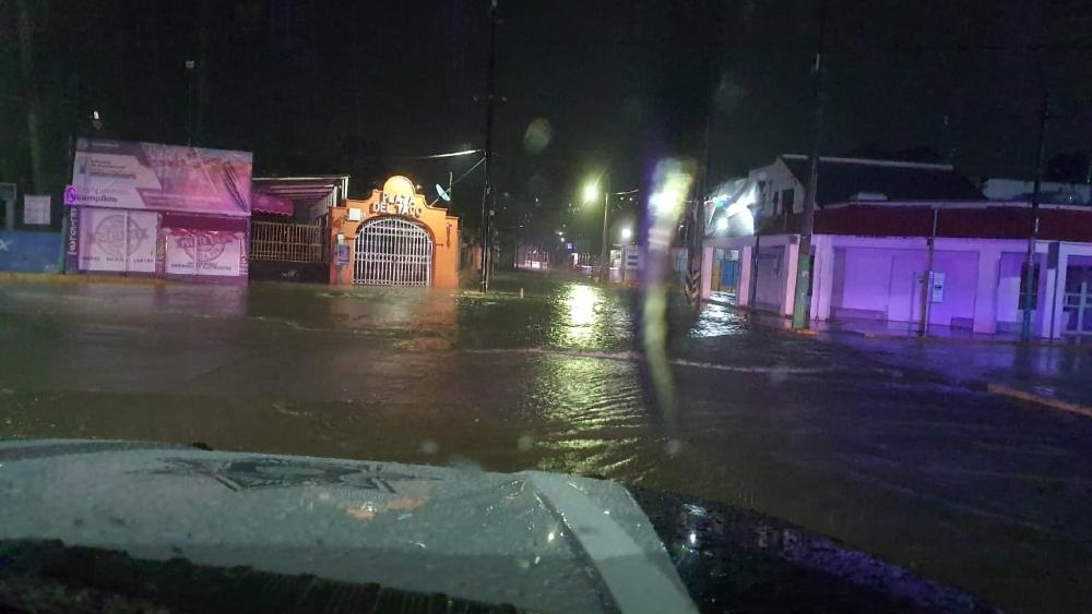 Tras fuertes lluvias, Río Tula volvió a desbordarse - desbordamiento río Tula 18sep21
