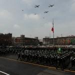 Desfile militar Independencia México soldados 2