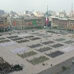 Desfile militar Independencia México soldados 4