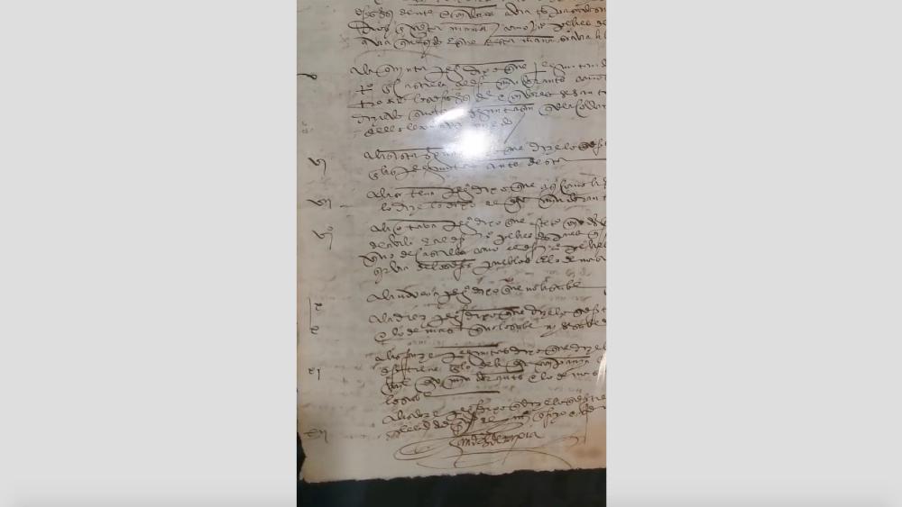 México recupera en EE.UU. documentos relacionados con Hernán Cortés - Documentos Hernán Cortés Ebrard Nueva York