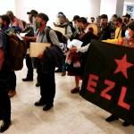 Bienvenida en Viena a los zapatistas al inicio de su gira europea - Foto de EFE