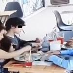 #Video Familia 'siembra' cabellos en comida para no pagar cuenta de restaurante