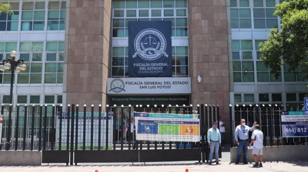 Investigan desaparición de tres policías municipales en San Luis Potosí - Fiscalía San Luis Potosí policias