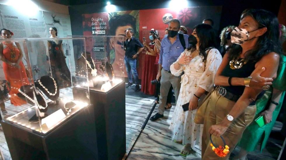 Una muestra en Nápoles homenajea la figura histórica de Frida Kahlo - Frida Kahlo exposición Napoles