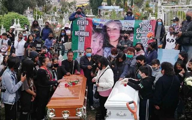 #Video Sepultan a Paola y Dilan, víctimas del derrumbe en Cerro del Chiquihuite - Funeral de Paola Daniela y Jorge Dilan, víctimas del derrumbe en Cerro del Chiquihuite