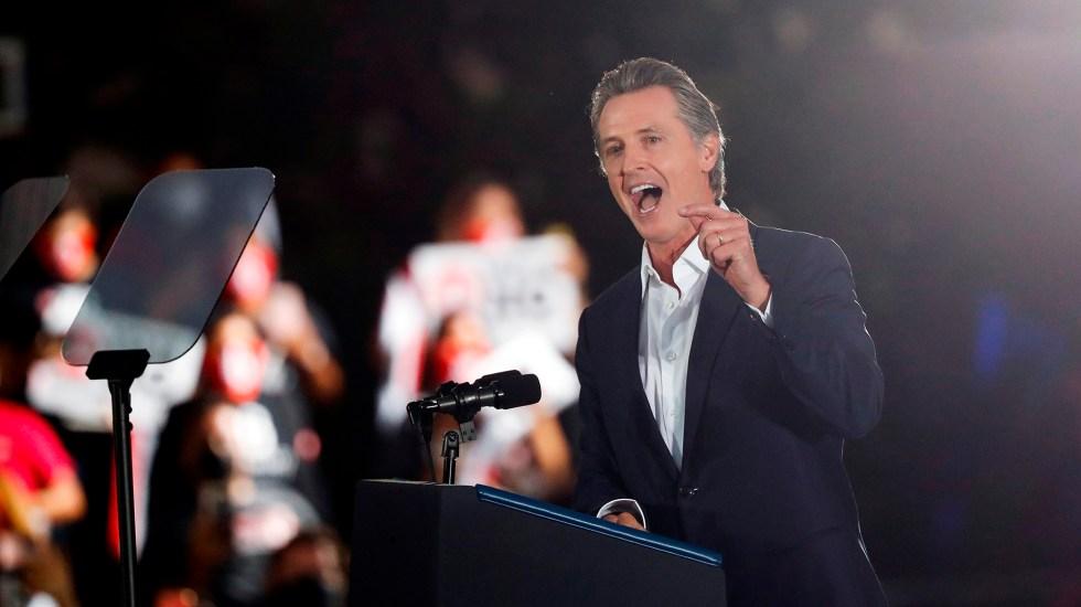 Fracasa el referéndum para destituir a Newsom como gobernador de California - Gavin Newsom