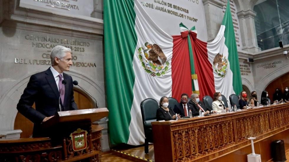 Poderes en el Edomex mantienen diálogo respetuoso, y constructivo: del Mazo - Gobernador Estado de México Alfredo del Mazo