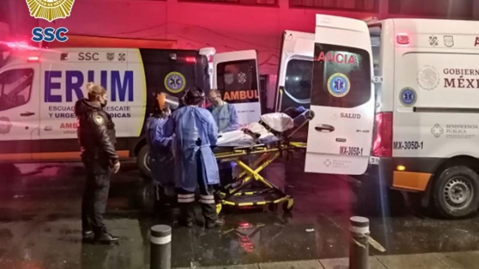 Policías de CDMX auxilian a mujer haitiana en labores de parto - Haitiana policías parto CDMX