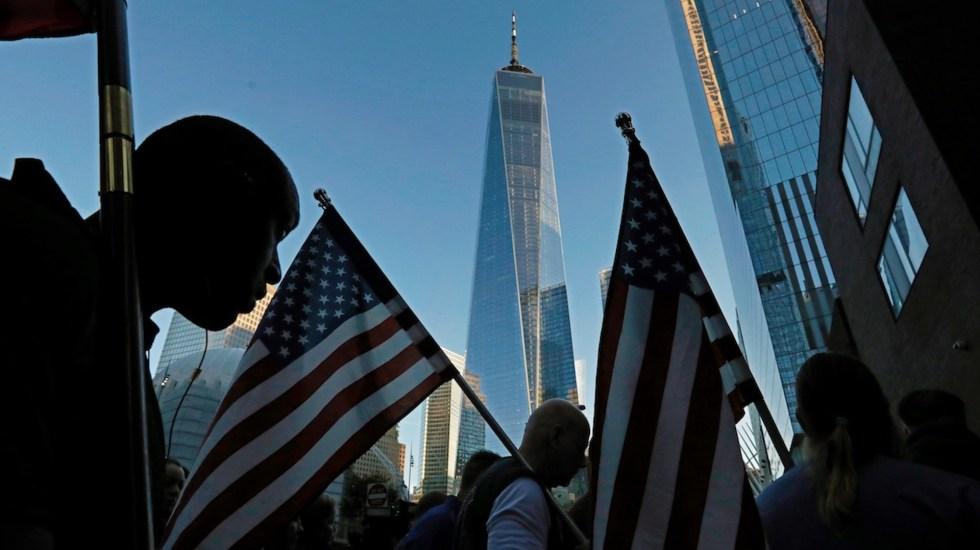 México se suma al pueblo estadounidense para recordar a víctimas de ataques terroristas - México se suma a conmemoración por ataques terroristas. Foto de EFE