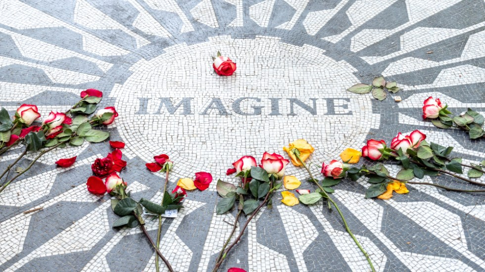"Medio siglo de ""Imagine"", la carta de amor y paz de John Lennon - Imagine John Lennon"