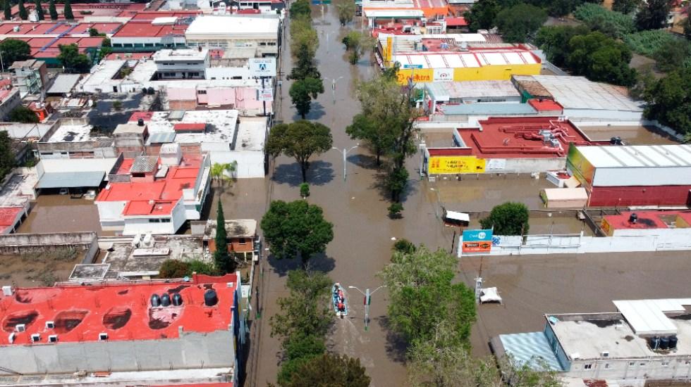 Sin Fonden, se atiende a los damnificados mejor que nunca: AMLO - inundaciones Tula Hidalgo Fonden