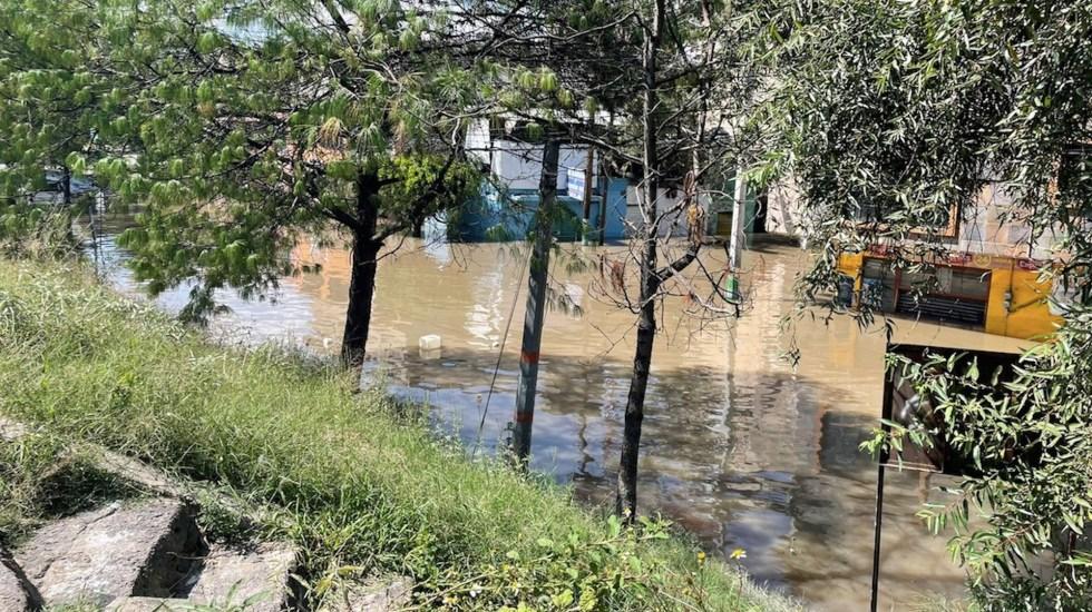Piden a habitantes cercanos al río en Tula desalojar sus viviendas - Piden a habitantes cercanos al río en Tula desalojar sus viviendas. Foto de Andrea Meraz