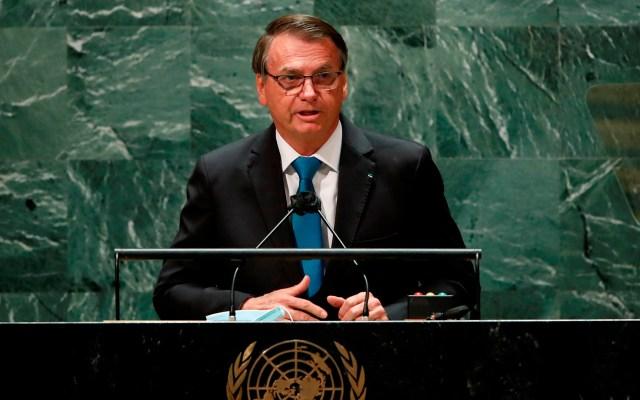 """Bolsonaro defiende un """"tratamiento precoz"""" contra COVID-19 en la ONU - Jair Bolsonaro ante 76 Asamblea General de la ONU"""